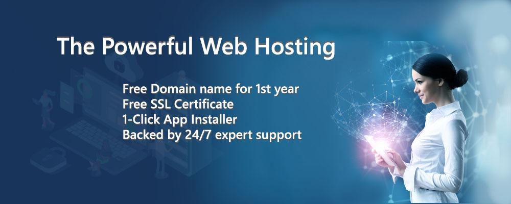The Powerful Web Hosting - Web Hostech